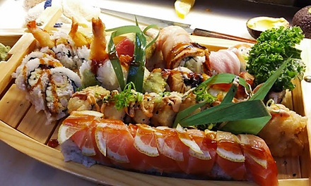 $17 for $25 Worth of Sushi and Japanese Cuisine at Wild Wasabe