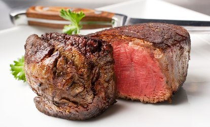 image for $41.50 for $80 Worth of Steaks, Seafood, and Drinks at Bobby Van's <strong>Steakhouse</strong>