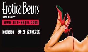 Ero-Expo: Duo-ticket voor de eroticabeurs te Mechelen op 20 of 22 oktober 2017 aan € 19.99