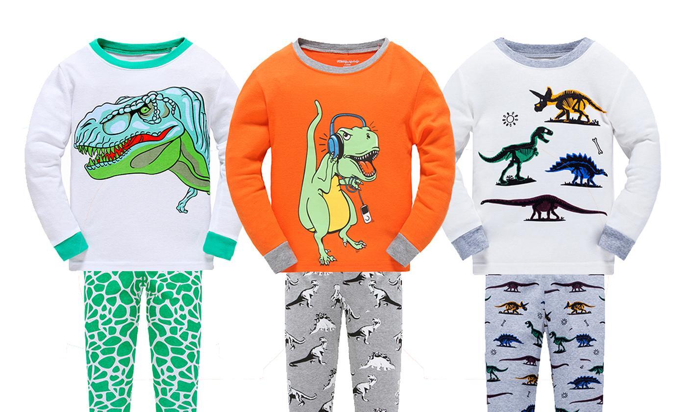 Boys' Dinosaur Pyjamas