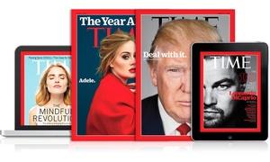 TIME Magazine: Abbonamento All Access 6, 12, 24, 36 mesi al TIME Magazine: digitale e cartaceo con consegna a casa (sconto fino a 89%)
