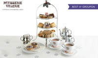 Festive Afternoon Tea for Two with Optional Prosecco and Mince Pies at Patisserie Valerie, Nationwide (Up to 23% Off)