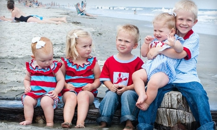 Holly Birdsong Photography - Augusta: $60 for a Children's Photo Package from Holly Birdsong Photography ($120 Value)