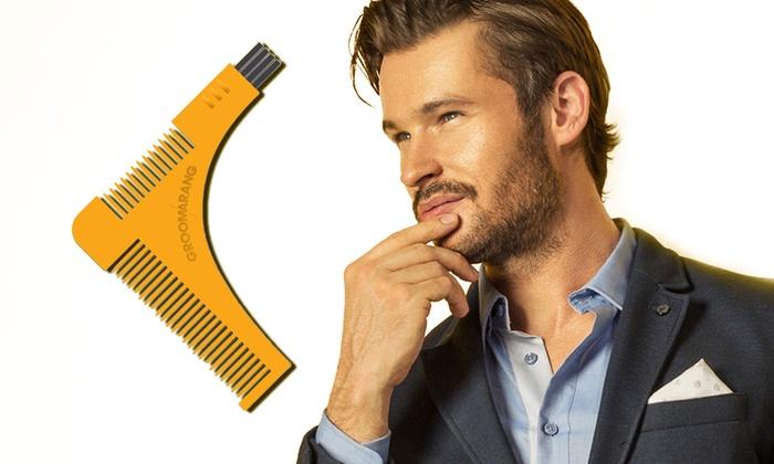 Groupon Goods Global GmbH: 1, 2 ou 3 peignes Groomarang pour le façonnage de la barbe dés 7,99 € (jusqu'à 58% de réduction)