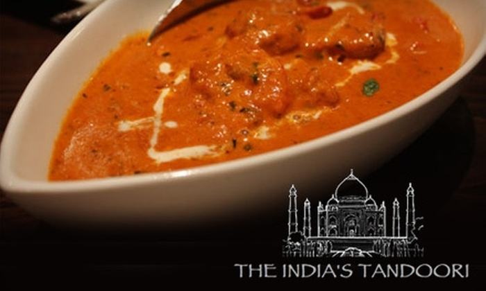 The India's Tandoori - Burbank: $15 for $30 Worth of Authentic Indian Fare and Drinks at The India's Tandoori in Burbank