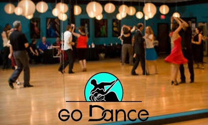 Go Dance - Allandale: $15 for Friday-Night Dance Lessons for Two at Go Dance ($30 Value)