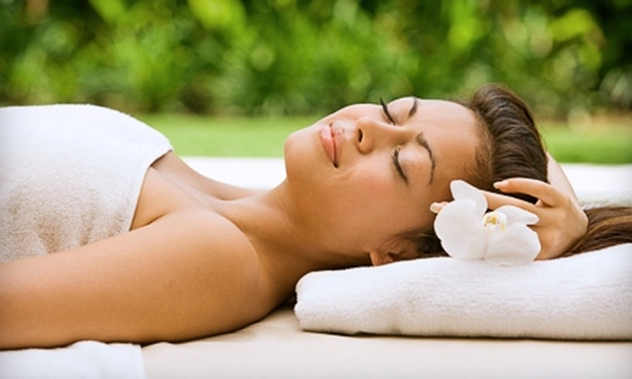 Amber Spa - Chicago: $37 for an Herbal Body Wrap at Amber Spa ($75 Value)