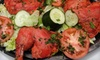 Sizzling Tandoor Indian Restaurant - Multiple Locations: Indian Dinner for Two or Four or Lunch for Two at Sizzling Tandoor Indian Restaurant (Up to 53% Off)