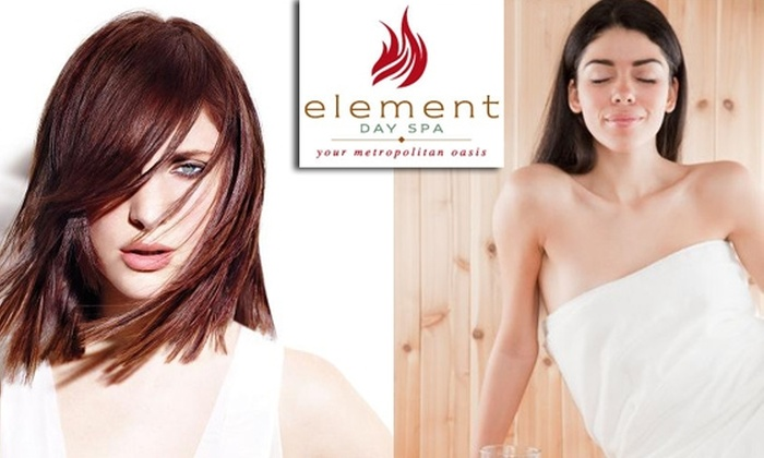 Element Day Spa - Charlestown: $50 for $125 Worth of Services at Element Day Spa