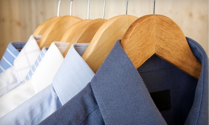 Marberry Cleaners and Launderers - Multiple Locations: $15 for $30 Worth of Pick-Up and Delivery Dry-Cleaning and Laundry Services from Marberry Cleaners and Launderers