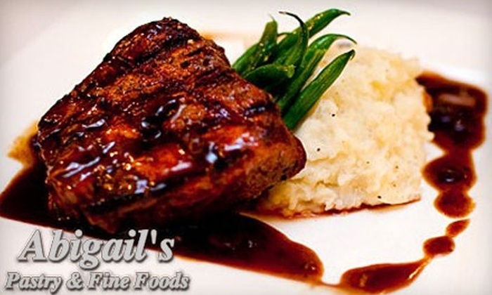 Abigail's Pastry & Fine Foods - Cow Hollow: $20 for $40 Worth of Classic American and French Fare for Dinner at Abigail's Pastry & Fine Foods