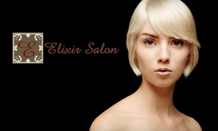 Elixir Salon - East Central: $30 for $65 Worth of Coloring Services or $15 for a Haircut and Styling ($30 Value) at Elixir Salon