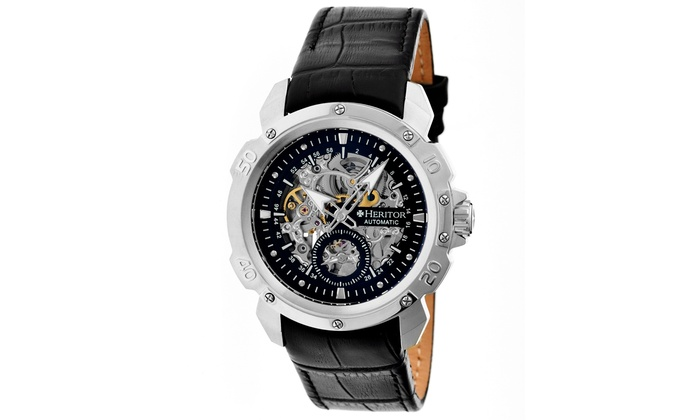 Mens Heritor Automatic Watches Carter Collection