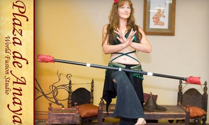 Plaza de Anaya - Tempe: $35 for Five Belly-Dance or World-Fusion Dance Classes at Plaza de Anaya in Tempe ($75 Value)