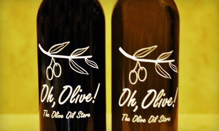 Oh, Olive! - Libertyville: $15 for $30 Worth of Gourmet Olive Oil, Pasta, and More at Oh, Olive! In Libertyville