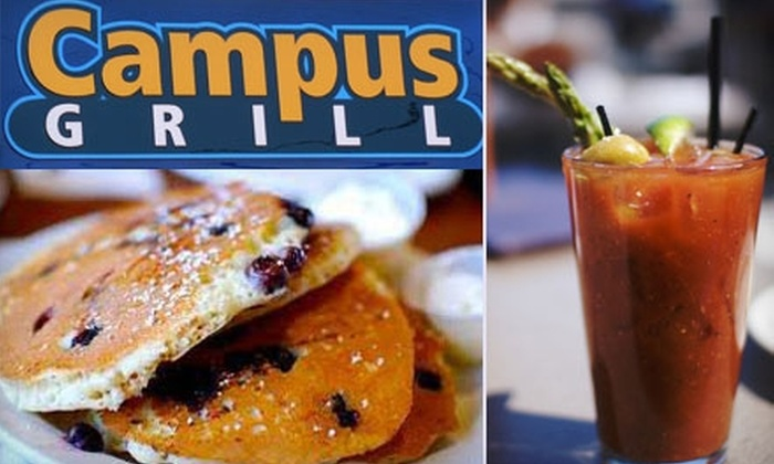 Campus Grill - Renaissance: $10 for $20 Worth of Pub Fare and Brews at Campus Grill