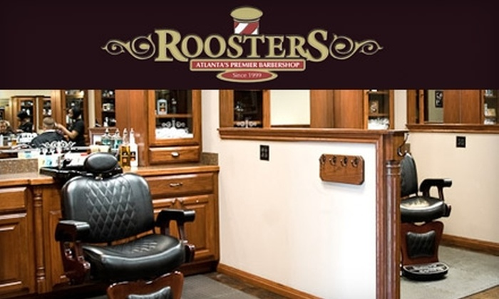 Roosters - Northeast Cobb: $16 for a Haircut ($32 Value) or $14 for a Signature Hot Shave ($28 Value) at Roosters