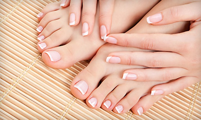Hello Gorgeous Salon and Day Spa - Conway: $35 for a Spa Manicure and a Deluxe Pedicure at Hello Gorgeous Salon and Day Spa in Conway ($75 Value)