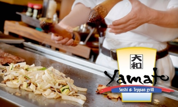 Yamato Japanese Restaurant - Camarillo: $7 for $15 Worth of Sushi, Steak, and More at Yamato Japanese Restaurant