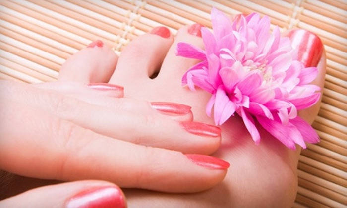 Cheri's Skin & Nail Boutique - Virginia Beach: Spa Package with Eyebrow Wax, Mani-Pedi, and Facial, or a Mani-Pedi at Cheri's Skin & Nail Boutique (Up to 52% Off)