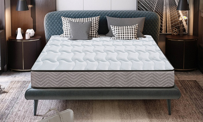 Memory Foam Quilted Sprung Mattress for £64.99
