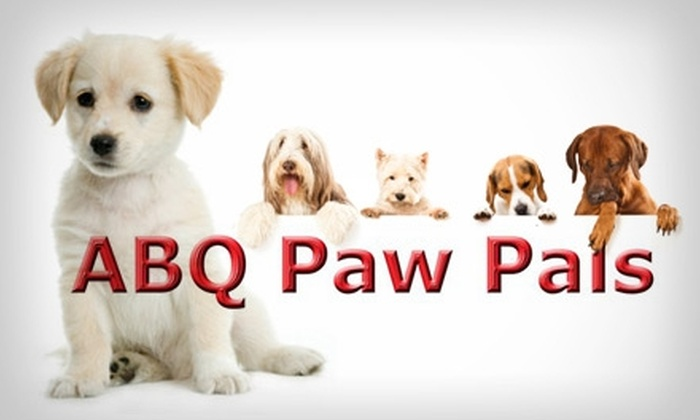 ABQ Paw Pals - Albuquerque: $25 for $60 Worth of Pet-Care Services from ABQ Paw Pals