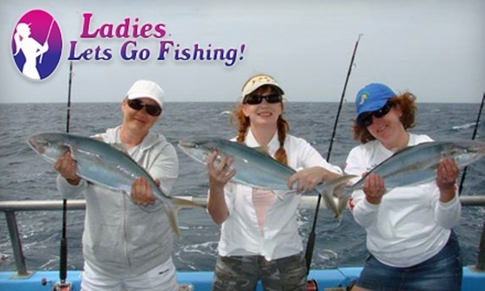 Ladies, Let's Go Fishing! - Airport Area: $67 for a Women's Educational Fishing Seminar with Ladies, Let's Go Fishing!