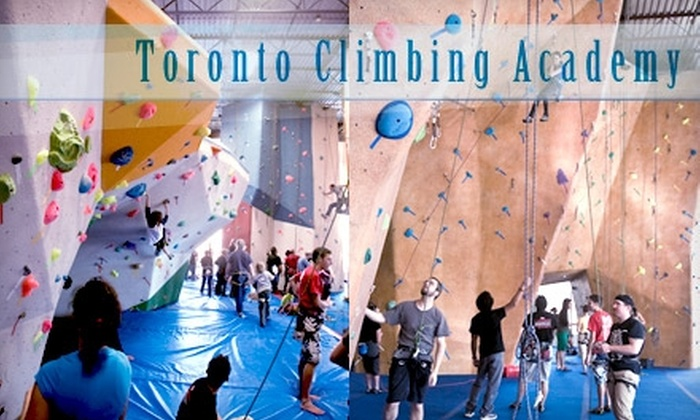 Toronto Climbing Academy - Toronto (GTA): $49 for Beginner's Course and One-Month Pass with Rentals at the Toronto Climbing Academy ($196 Value)