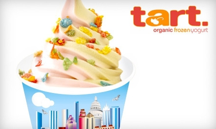 tart. - Downtown: $5 for $10 Worth of Organic Frozen Yogurt at tart.