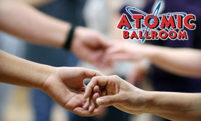ATOMIC Ballroom - Irvine Business Complex: $20 for Five Group Dance Classes at Atomic Ballroom in Irvine ($75 Value)