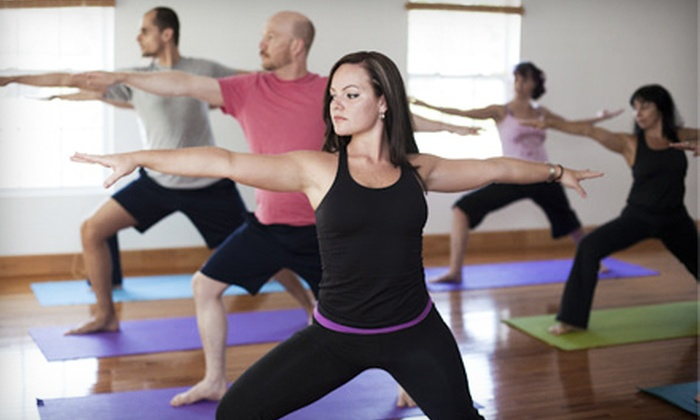 Savannah Yoga Room - Whitemarsh Island: $30 for Eight Classes at Savannah Yoga Room ($75 Value)