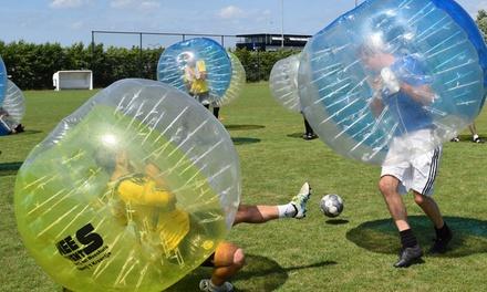 Twee uur bubblevoetbal op locatie tot 12 spelers via De Nummer 12