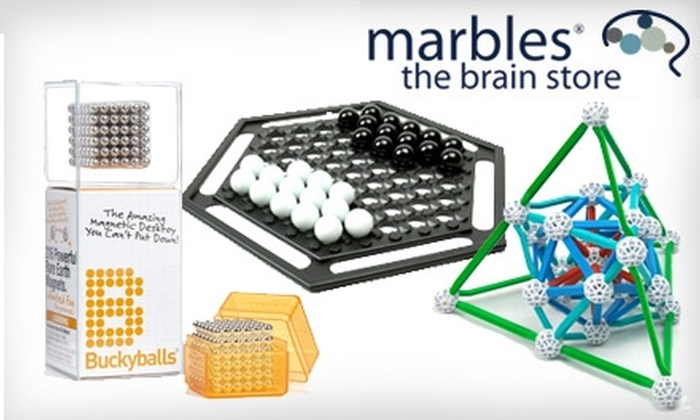Marbles: The Brain Store: $25 for $50 Worth of Merchandise from Marbles: The Brain Store
