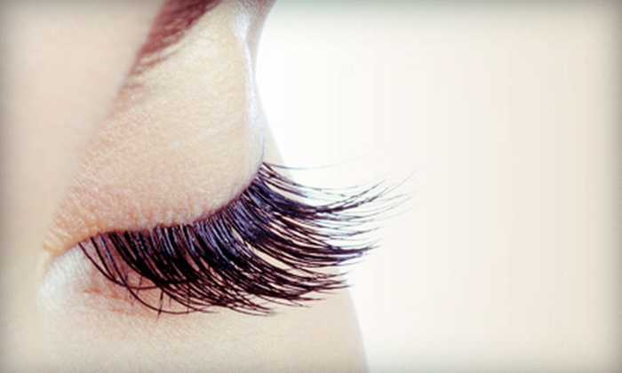Ergo Salon and Spa - Stapleton: Full Set of Eyelash Extensions with Option of Two Fills at Ergo Salon and Spa (Up to 62% Off)