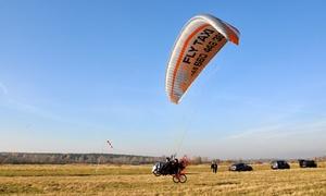 Fly Taxi: Szkolenie z lotem na motoparalotni z instruktorem nad Kazimierzem Dolnym od 150 zł z firmą Fly Taxi
