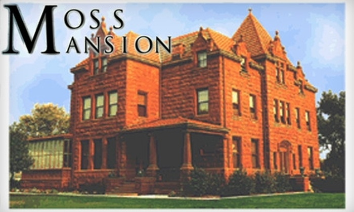 Moss Mansion - Central - Terry: $7 for Two Adult Admission Tickets to Moss Mansion ($14 Value)