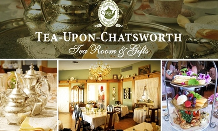 Tea Upon Chatsworth - Point Loma Heights: $11 Afternoon Tea at Tea Upon Chatsworth ($22.95 Value)