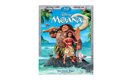 Moana Blu-ray + DVD + Digital HD