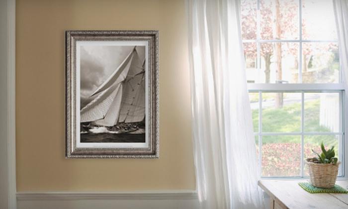 Half Off Artwork or Custom Framing - Frame It In Brooklyn | Groupon