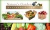 Nature's Garden Delivered  - Columbus: $15 for $32 Worth of Organic, Local Produce from Nature's Garden Delivered