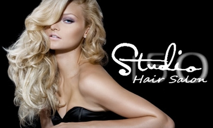 Studio 150 Hair Salon - Moss Bay: $39 for $85 Worth of Services at Studio 150 Hair Salon