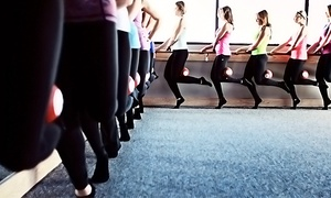 Pure Barre - New Tampa: Five or Ten Pure Barre Classes at Pure Barre - New Tampa (Up to 63% Off)