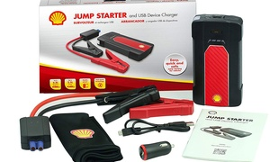 Shell 700mAh Car Jumpstarter and USB Power Bank Battery Booster Pack