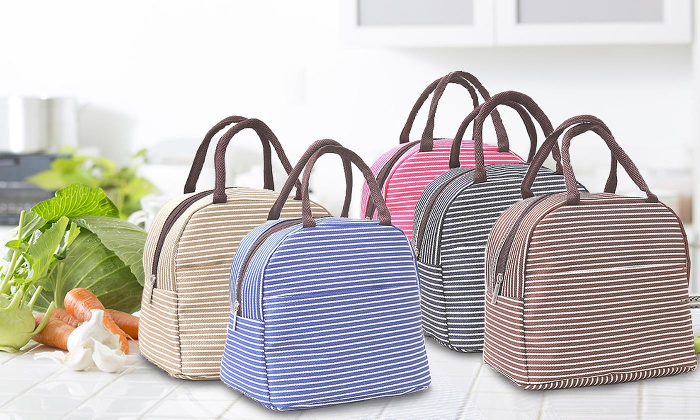 Up to Eight Thermal Cooling Lunch Bags in Choice of Colour