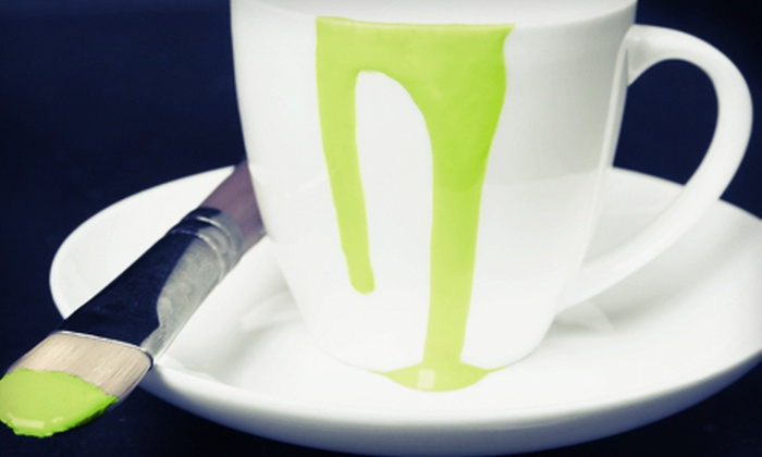 Village Center for the Arts - Bunker Hill: $25 for Coffee-Mug Pottery Painting for Two at Village Center for the Arts in New Milford ($50 Value)