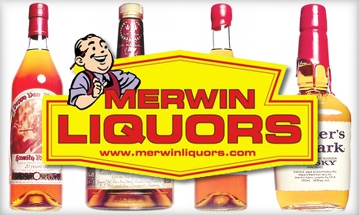 Merwin Liquors - Multiple Locations: $10 for $20 Worth of Beers, Liquors, and Other Potent Drinks from Merwin Liquors