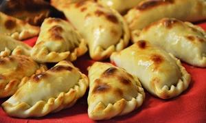 Gloria Resto-Bar: 6 oder 12 Empanadas nach Wahl für 2 oder 4 Personen in der Gloria Resto-Bar (bis zu 36% sparen*)