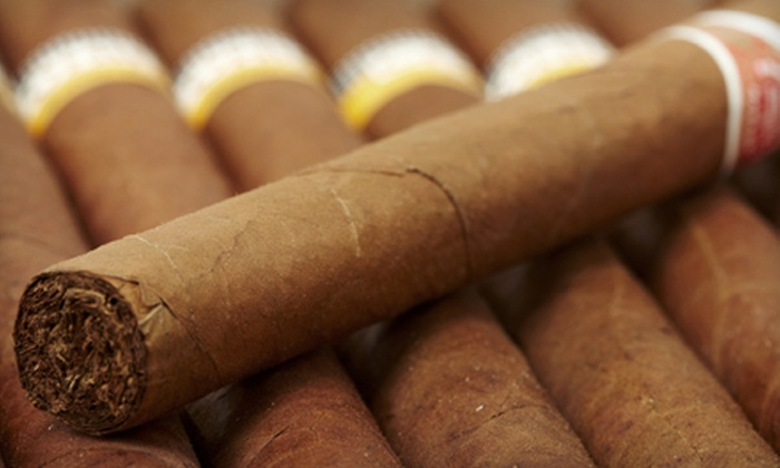 Charles P. Stanley Cigar Company and Lounge - Downtown St. Louis: $10 for a Cigar and Drink Pairing at Charles P. Stanley Cigar Company and Lounge (Up to $20 Value)