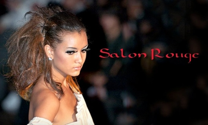 Salon Rouge - San Antonio: $25 for Hair-Services Package and $10 Credit for Return Visit at Salon Rouge