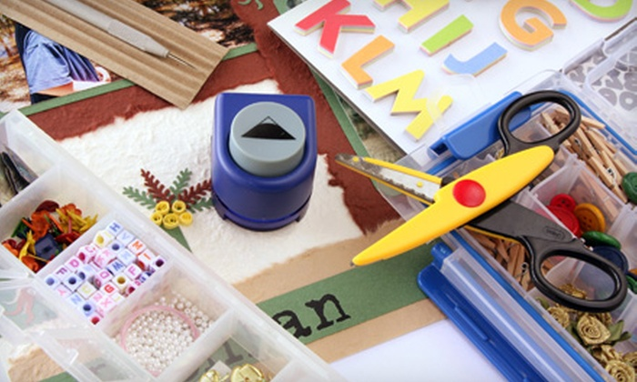 Cut Above Scrappin': $20 for $40 Worth of Scrapbooking Supplies from Cut Above Scrappin'